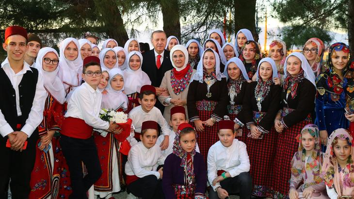 'Western Thrace Turkish Minority is not derelict' says Erdogan